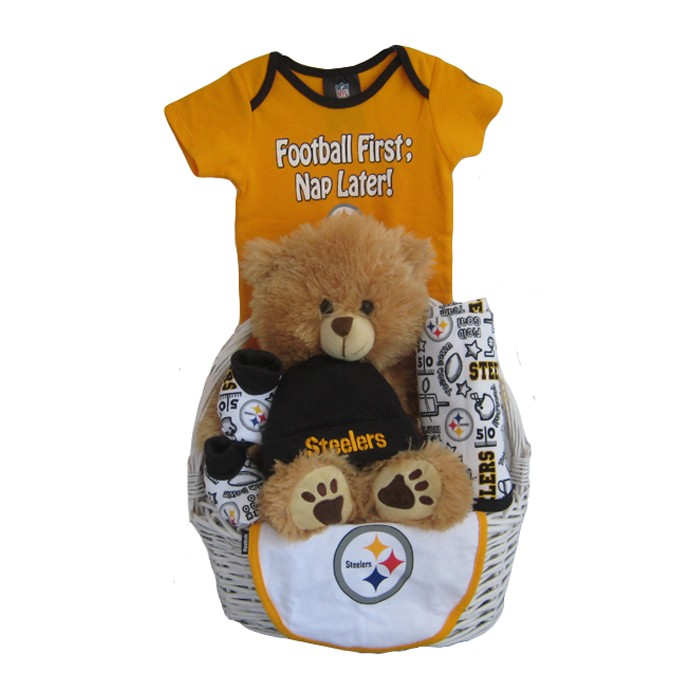 88ad698e0 Pittsburgh Steelers Baby Gift Basket ***TOUCHDOWN***