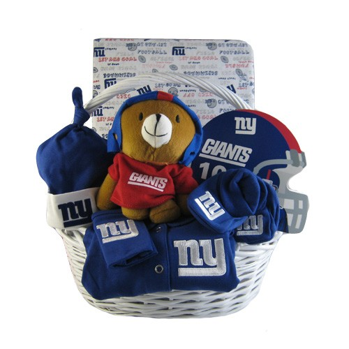 New York Giants Baby Gift Basket ***TOUCHDOWN***