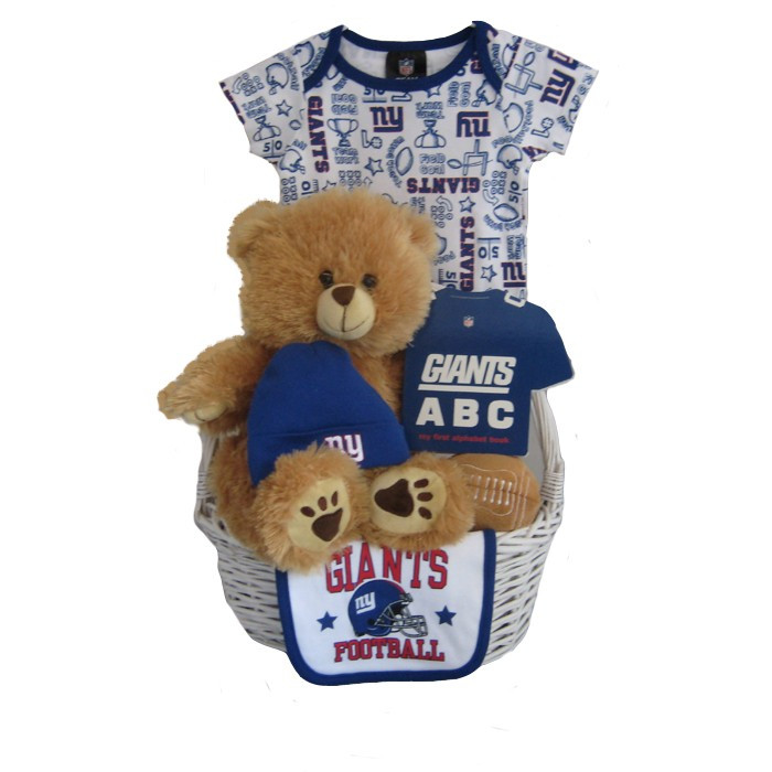 New York Giants Baby Gift Basket ***TOUCHDOWN***