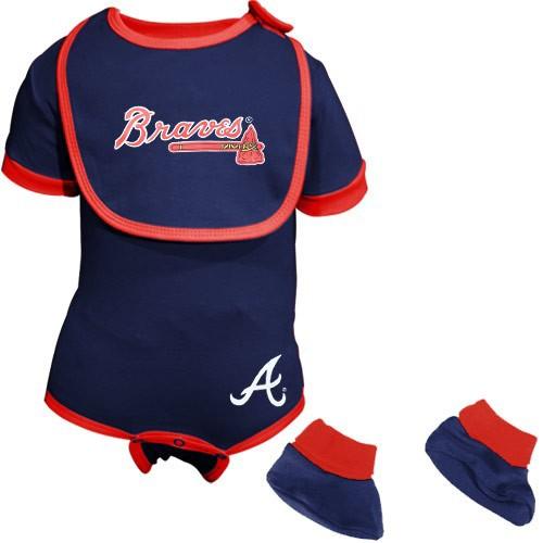 quality design bb8ec 150a6 Atlanta Braves Baby Clothing