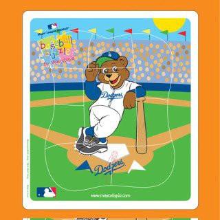 Los Angeles Dodgers Baby Puzzle ***ADORABLE***