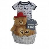 Dallas Cowboys Baby Gift Basket ***TOUCHDOWN***