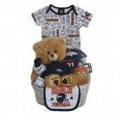 Denver Broncos Baby Gift Basket ***TOUCHDOWN***