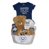 Indianapolis Colts Baby Gift Basket ***TOUCHDOWN***