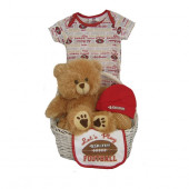 San Francisco 49ers Baby Gift Basket ***TOUCHDOWN***