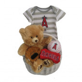 Los Angeles Angels Baby Gift Basket ***HOME RUN***