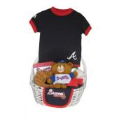 Atlanta Braves Baby Gift Basket ***HOME RUN***