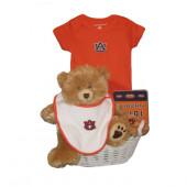 Auburn Tigers Baby Gift Basket ***TOUCHDOWN***