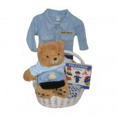 Baby Police Officer Gift Basket ***Welcome Future Officer***