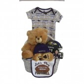 Baltimore Ravens Baby Gift Basket ***TOUCHDOWN***