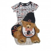 Chicago Bears Baby Gift Basket ***TOUCHDOWN***