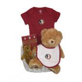 FSU Seminoles Baby Gift Basket ***TOUCHDOWN***