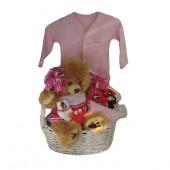 Georgia Bulldogs Baby Girl Gift Basket ***TOUCHDOWN***