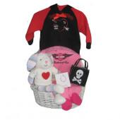 Harley-Davidson Baby Girl Basket  ***BORN TO RIDE BABY GIRL***