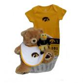 Iowa Hawkeyes Baby Gift Basket ***TOUCHDOWN***