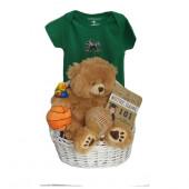 Notre Dame Baby Gift Basket  ***TOUCHDOWN***