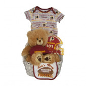 Washington Redskins Baby Gift Basket  ***TOUCHDOWN***