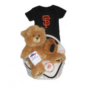 San Francisco Giants Baby Gift Basket  ***HOME RUN***