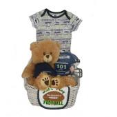 Seattle Seahawks Baby Gift Basket ***SUPERBOWL 2015***