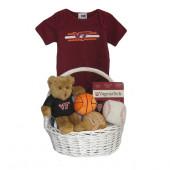 Virginia Tech Hokies Baby Gift Basket