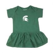 Michigan State Spartans Girl Onesie Dress