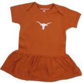 Texas Longhorns Baby Girl Onesie Dress