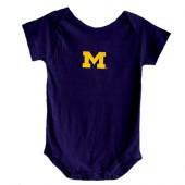 Michigan Wolverines Baby Onesie