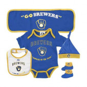 Milwaukee Brewers Baby Gift Set