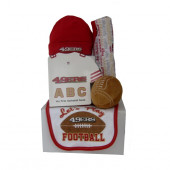San Francisco 49ers Baby Gift Set  ***4th and GOAL***