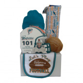 Miami Dolphins Baby Gift Set  ***4th and GOAL***