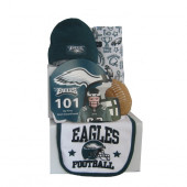 Philadelphia Eagles Baby Gift Set  ***4th and GOAL***