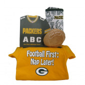 Green Bay Packers Baby Gift Set  ***4th and GOAL***