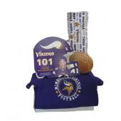 Minnesota Vikings Baby Gift Set  ***4th and GOAL***