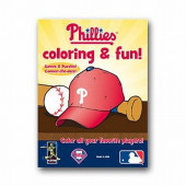 Philadelphia Phillies Coloring and Games Book