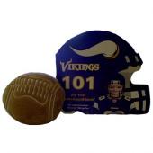 Minnesota Vikings Baby Book & Plush Football